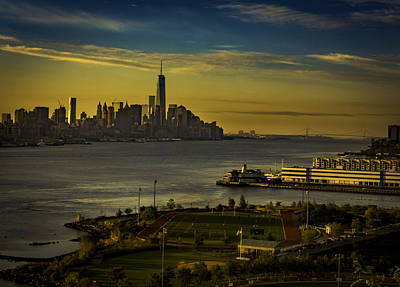 Photograph - Football Field With A View by Francisco Gomez