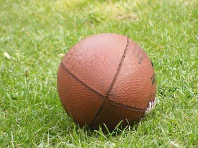 Photograph - Football by Michelle Hoffmann