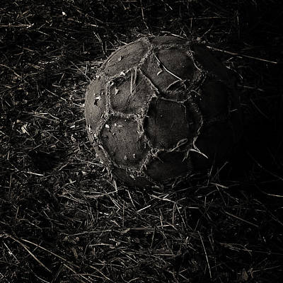 Photograph - Football by Tim Nichols