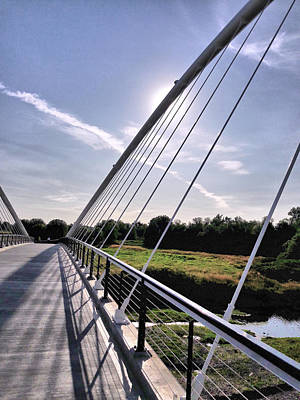 Photograph - Footbridge 1 by Lora Fisher