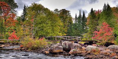 Photograph - Footbridge At Indian Rapids by David Patterson