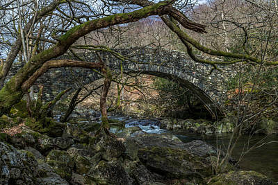 Photograph - Footbridge by Keith Elliott