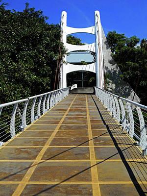 Photograph - Footbridge  by Ron Kandt