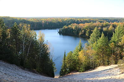 Photograph - Foote Pond Overlook by Erick Schmidt