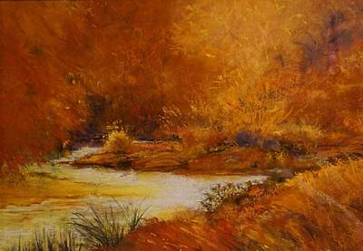 Painting - Foothill Glow by Sandra Lee Scott