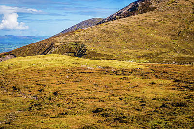Photograph - Foothill Of The Macgillycuddy's Reeks In Kerry Ireland by Semmick Photo