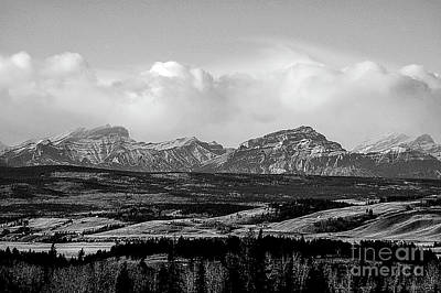 Photograph - Foothills Alberta by Elaine Hunter