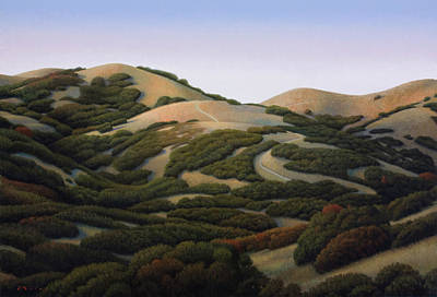Wall Art - Painting - Foothills by Chris Miles