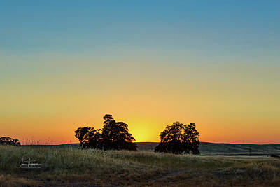 Photograph - Foothills Sunset by Jim Thompson