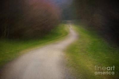 Icm Photograph - Footpath by Richard Thomas