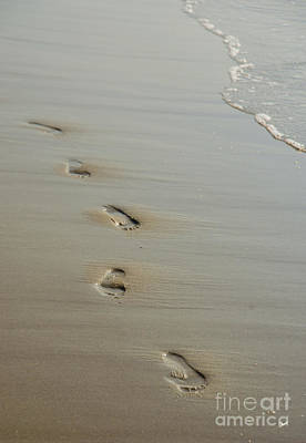 Photograph - Footprints by Alana Ranney