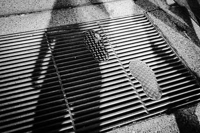 Photograph - Footprints And Shadows by Desmond Raymond