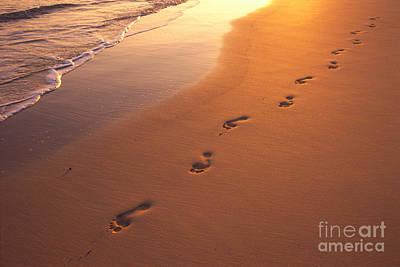 Photograph - Footprints by Dana Edmunds - Printscapes