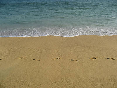Photograph - Footprints In Acapulco 2 by Tatiana Travelways