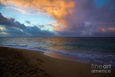 Photograph - Footprints In The Sand by Jon Burch Photography
