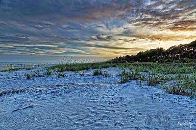 Footsteps In The Dunes Original