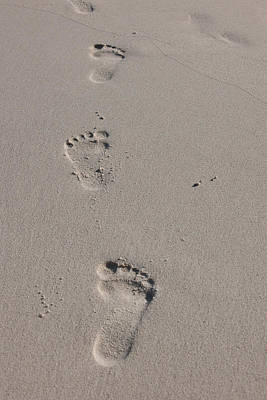 Photograph - Footsteps by Johnny Sandaire