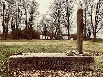 Photograph - Footville Square by Michael Krek