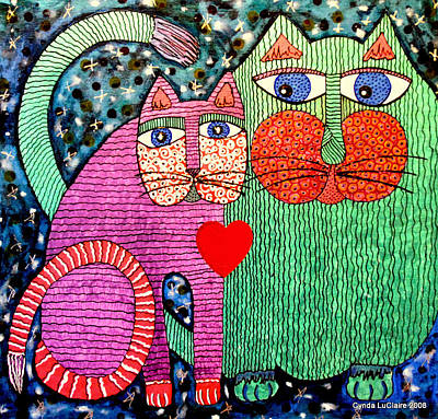 For All The Cats I Art Print by Cynda LuClaire