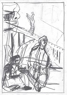 For B Story 4 8 Art Print