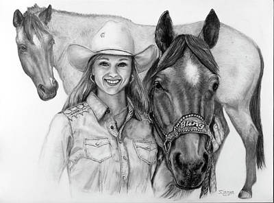 Drawing - For Bling by Jim Ziemer