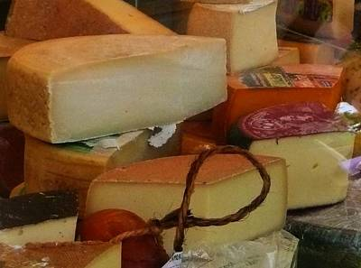 Red Photograph - For Cheese Lovers Only by Lori Seaman