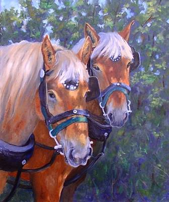 Painting - For Hire by Debra Mickelson