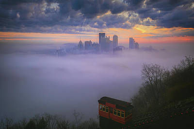 Photograph - City Of Steel And Fog by Emmanuel Panagiotakis