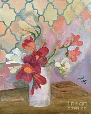 Painting - For Lisa by Carol Oufnac Mahan