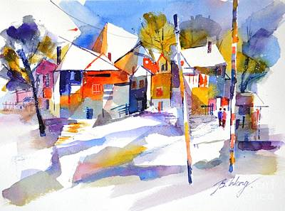 Painting - For Love Of Winter #2 by Betty M M Wong