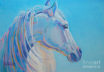 Animal Portraiture Painting - For Melissa by Kimberly Santini