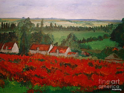 Painting - For Monet by Michael Canning