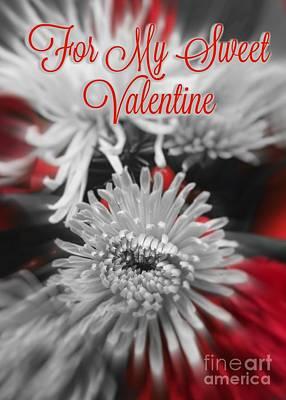 Photograph - For My Sweet Valentine by Jenny Revitz Soper