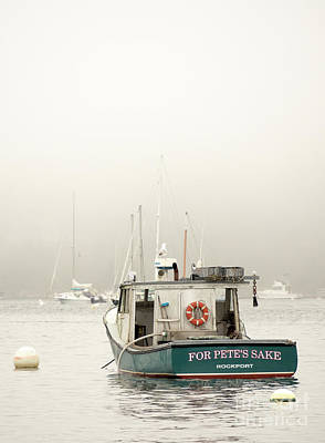 Photograph - For Pete's Sake, Rockport, Maine #174835 by John Bald