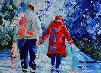 Painting - For Richer Or Poorer by Valerie Curtiss