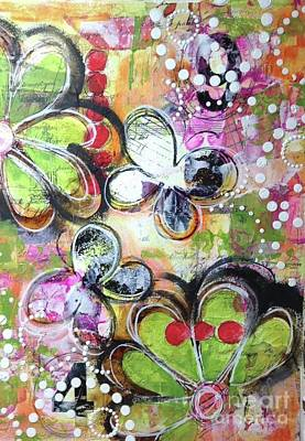 Mixed Media - For The Fun Of It by Pamela Vosseller