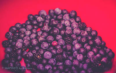 For The Love Of Berries Art Print