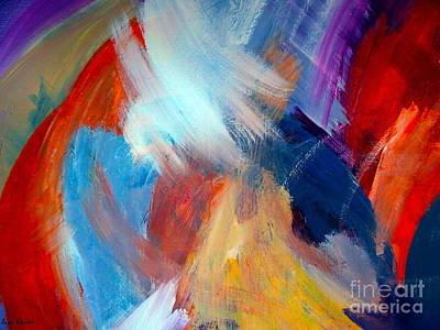 Abstract Painting - For The Love Of Color by Lisa Kaiser