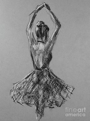 For The Love Of Dance Art Print