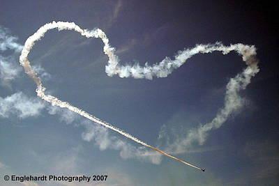For The Love Of Flight Art Print by Jennifer Englehardt