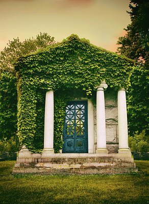 Greek Columns Digital Art - For The Love Of Ivy by Jessica Jenney