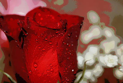 For The Love Of My Life Art Print by Dianne Cowen
