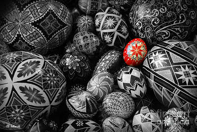 For The Love Of Pysanky Art Print