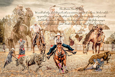 Photograph - For The Love Of Rodeo by Char Doonan