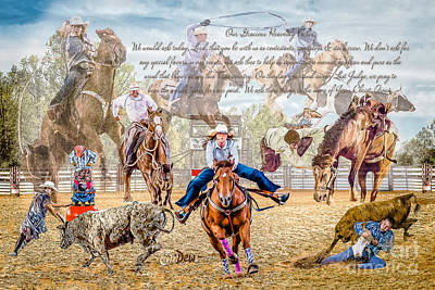 Photograph - For The Love Of Rodeo II by Char Doonan