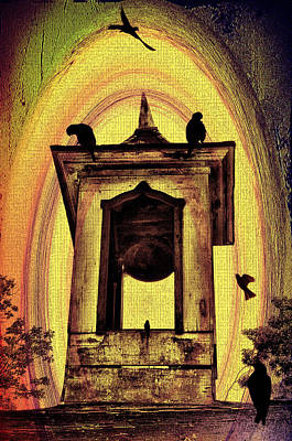 For Whom The Bell Tolls Art Print by Bill Cannon