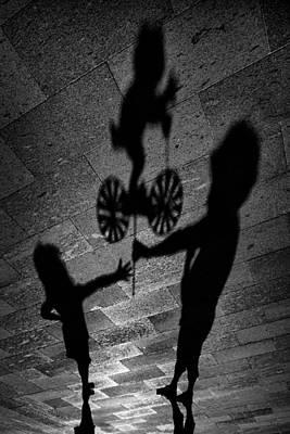Shadows Photograph - For You. by Antonio Grambone
