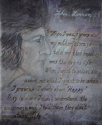 Painting - For You John by Delona Seserman