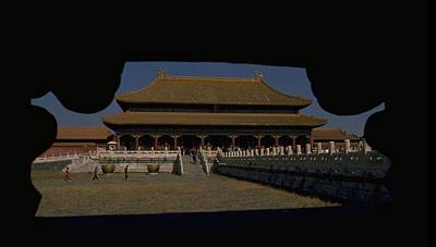 Travel Pics Royalty-Free and Rights-Managed Images - Forbidden City, Beijing by Travel Pics
