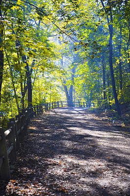 Fairmount Park Photograph - Forbidden Drive - Philadelphia by Bill Cannon
